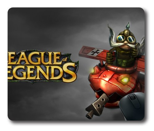 corki-the-daring-bombardier-rectangle-mouse-pad-diy-cecilydreaming