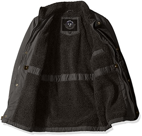 Lining Jacket Republic Boys' Sherpa with Big Urban Dark Charcoal Safari qR0gOnw