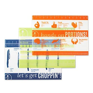 The Pampered Chef Flexible Cutting Mat Set of 3