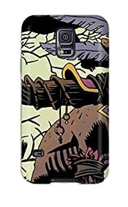 First-class Case Cover For Galaxy S5 Dual Protection Cover Witch Doctor