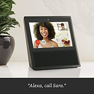 Echo Show - Black + Arlo 1 Camera Kit