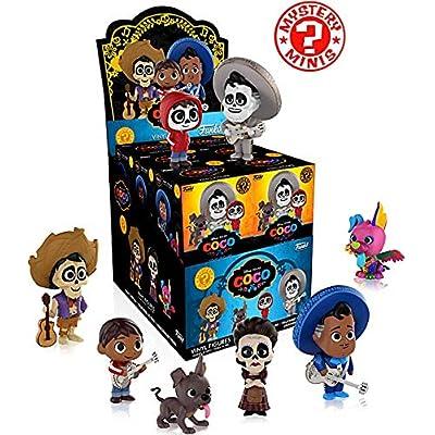 Funko Disney Pixar's Coco Mystery Mini Blind Box Display (Case of 12): Toys & Games