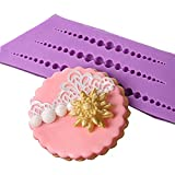 Beads Pearls Silicone Mold Fondant Decorating Mould String of Pearl Cake Decorating Sugarcraft Decorating Tool