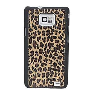 Wohai Gadget Mall - Estampado leopardo Caso duro del patrón para Samsung I9100 Galaxy 2