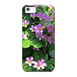 High Quality Shock Absorbing Case For Iphone 5c-tiny Flowers by lolosakes
