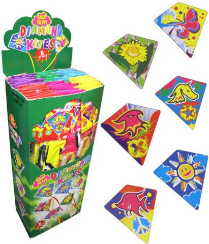 Bulk Buys Diamond Kite Flyers Display by bulk buys