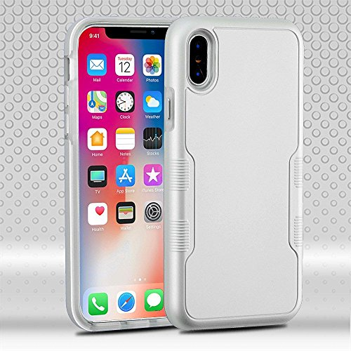 iPhone X Case, Mybat Tuff Dual Layer [Shock Absorbing] Protection Hybrid PC/TPU Rubber Case Cover For Apple iPhone X, - Carrera Speedway Sunglasses