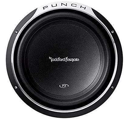 Amazon.com: Rockford Fosgate P3D2-12 Punch P3 DVC 2 Ohm 12-Inch 600 ...