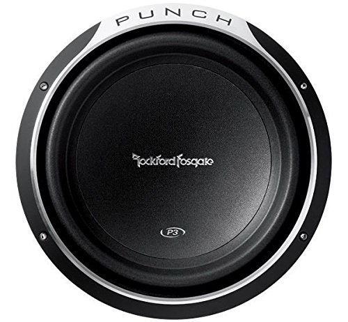 Rockford Fosgate Punch P3 DVC 12-Inch 600 Watts RMS 1200 Watts Peak Subwoofer