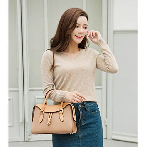 Crossbody Bag Bag Ms JIUTE Leather Messenger Shoulder PU Large Women's qFw8T