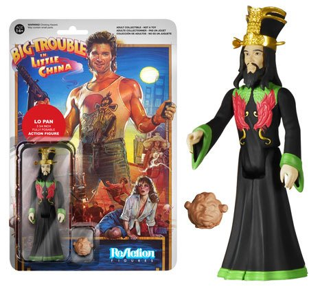 Funko Reaction: Big Trouble in Little China: Ghost Lo Pan Figure