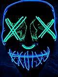 Double Color Led - Halloween Led Mask - Led Face