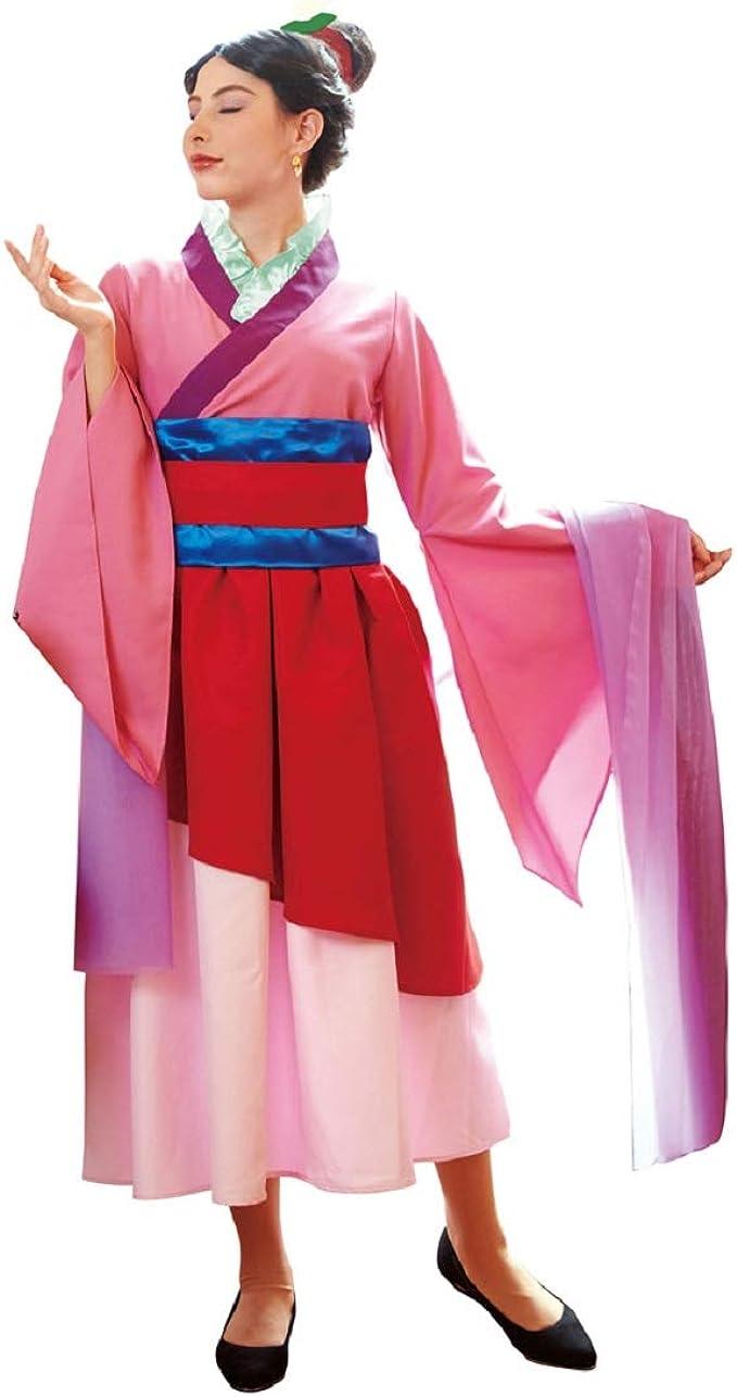 Amazon Com Disney Mulan Costume Teen Women S Std Size Clothing