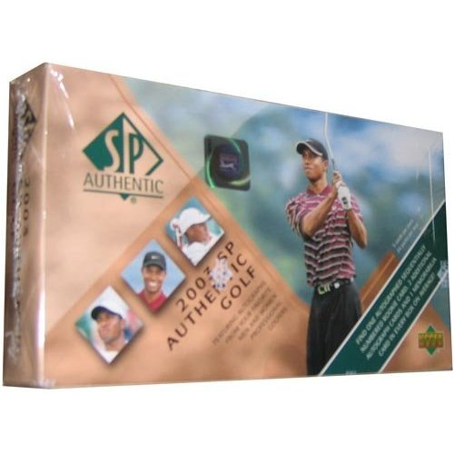 (2003 Upper Deck SP Authentic Golf Hobby Box)
