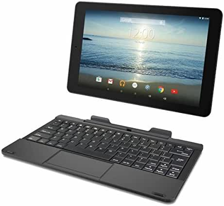 RCA RCT6303W87DK 10-Inch 32GB Tablet (Black) with Detachable Keyboard