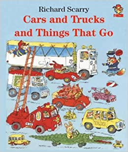 Image result for cars and trucks and things that go by richard scarry