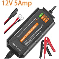 Kufung 12V 5A Smart Automatic Battery Charger (Orange)