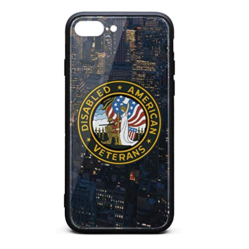 (Disabled American Veterans iPhone 7 Plus Hard Mobile Cases Skid-Proof Drop Protection)