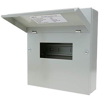 Cablematic Caja de Distribución Eléctrica SPN 6M IP40 para Superficie de Metal: Amazon.es: Electrónica