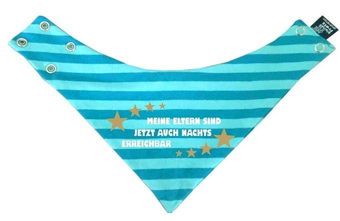 Papas ganzer Stolz/in 9 Designs/Größen 0-36 Monate KLEINER FRATZ Baby Kinder Halstuch gestreift