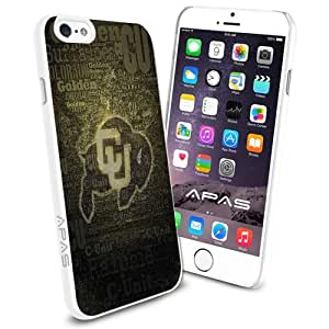 University of Colorado at Boulder NCAA Silicone Skin Case Rubber Iphone 6 Case Cover