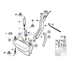 BMW Genuine Washer Fluid Reservoir - Windshield 745i 750i 760i ALPINA B7 745Li 750Li 760Li Drophead Drophead Coupé Coupé