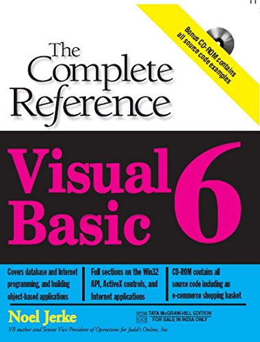 Visual Basic 6: The Complete Reference book by Noel Jerke