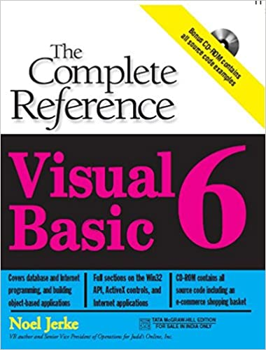 Buy Visual Basic 6: The Complete Reference Book Online at Low Prices