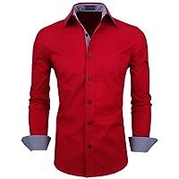 Zombom Men's Cotton Casual Shirt