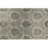 Bashian GREENWICH HG264 Collection Hand Tufted Wool  amp; Viscose Area Rug, 7.9 #39; x 9.9 #39;, Lig