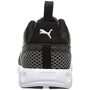 PUMA Men's Carson Knitted Cross-Trainer Shoe, Quiet Shade Black, 10.5 M US