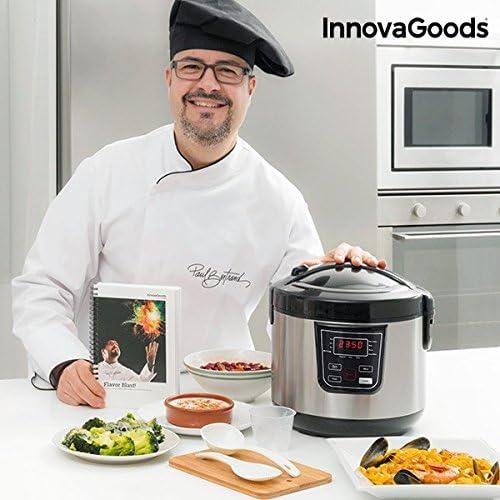 InnovaGoods IG114222 Robot de Cocina con Recetario, 800 W, 4 ...