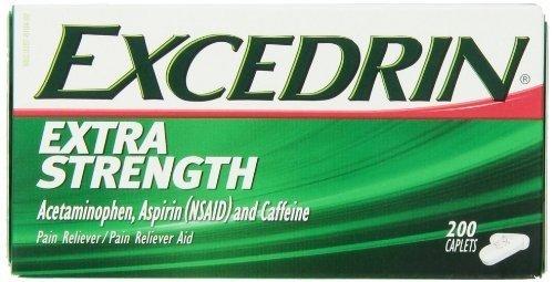 Excedrin Extra Strength Caplets - 200 (Excedrin Extra Strength Caplets)