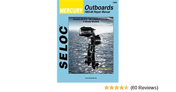 Seloc Mercury Outboards, Repair Manual, 1965-89 (Seloc Publications