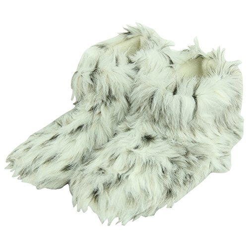 Forfoot Woman's Adult Winter Warm Faux Fur Indoor House H...