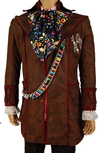 GOTEDDY Johnny Cosplay Costume Halloween Outfit Jacket Pants Tie 6 pcs (XL)
