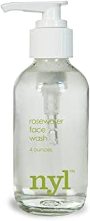 product image for Rosewater Face Wash, Organic - for dry, normal or sensitive skin, 4 fl oz.