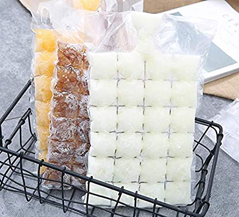 Sonpo - Bolsa para cubitos de hielo congelados (24 cubitos ...