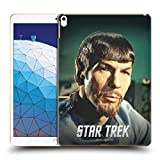Official Star Trek Mirror Embossed Spock Hard Back Case Compatible for iPad Air (2019)