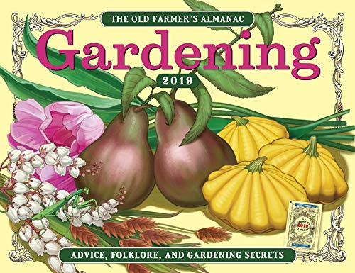 The Old Farmer's Almanac 2019 Gardening Calendar made in New England