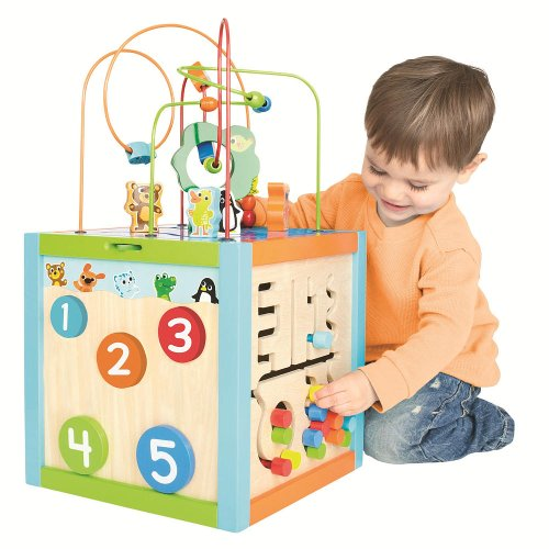 Imaginarium 5-Way Giant Bead Maze Cube by Imaginarium