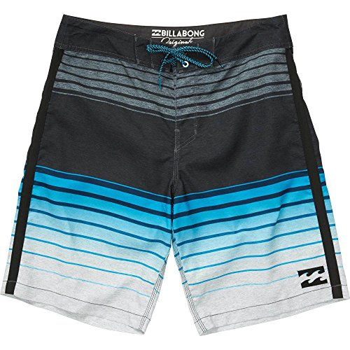 Billabong Men's All Day Faded Boardshort, Electric Blue, 32