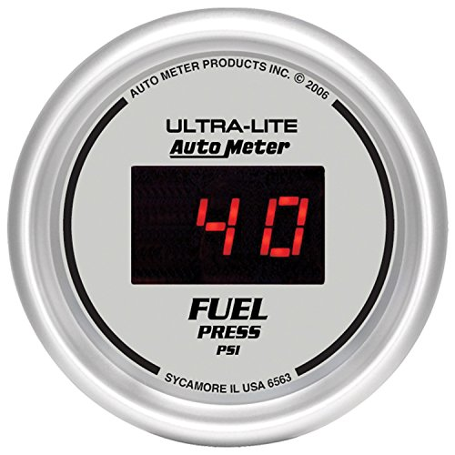 Fuel Isspro Gauge Pressure (Auto Meter 6563 Ultra-Lite Digital 2-1/16