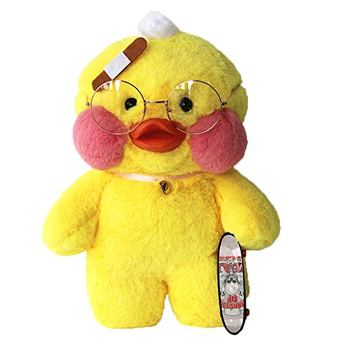 Valgens Plush Figure Toys Duck Stuffed Animal Lalafanfan Caf