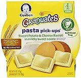 Gerber Graduates Pasta Pick Ups, Sweet Potato and Cheese Ravioli, 6 Ounce (Pack of 8)