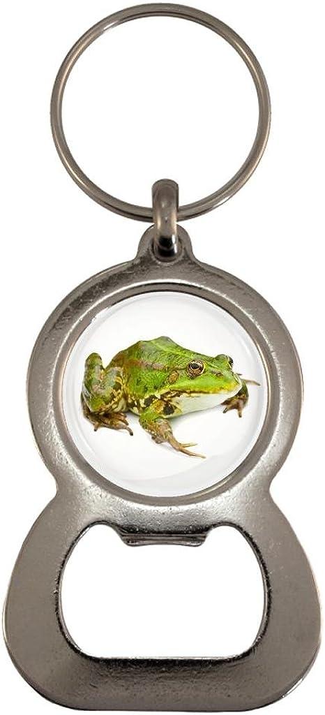 Frog Image Design Metal Bottle Opener Keyring