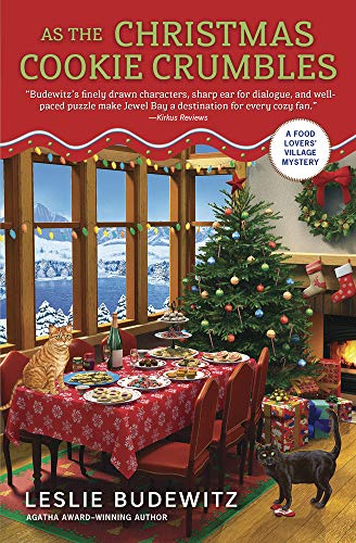 As the Christmas Cookie Crumbles (A Food Lovers' Village Mystery Book 5)
