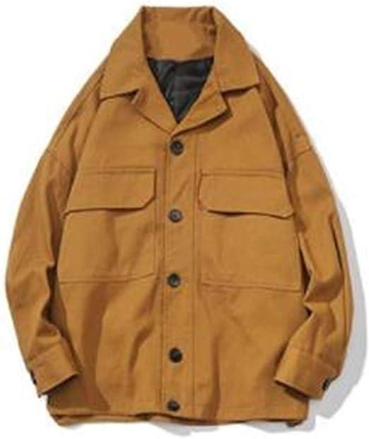 [ンーセンー] メンズ ジャケット 長袖 トップス 柄プリント おしゃれ ストリート系 秋冬 ゆったり 大きいサイズ 個性