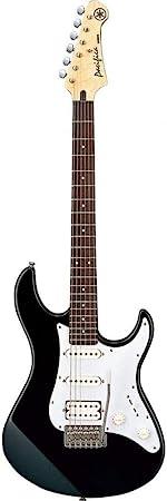 Yamaha Pacifica 012 Guitarra Eléctrica Guitarra 4/4 de madera, 64.77 cm, escala 25.5 pulgadas, 6 cuerdas, selector pastillas de 5 posiciones, Color ...