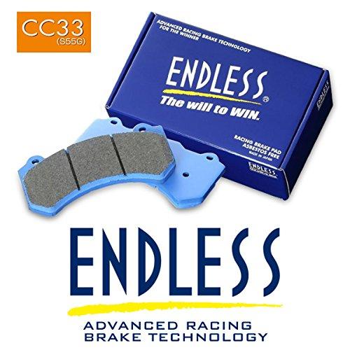 ENDLESS エンドレス APレーシング製 レーシングキャリパー用 ブレーキパッド CC33 (S55G) CP7040キャリパー用 (ピストン数 6)   B077399468